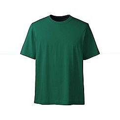 Lands' End - Green men's short sleeve super/t traditional fit