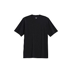 Lands' End - Black short sleeve super-t