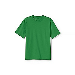 Lands' End - Green short sleeve super-t traditional fit
