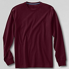 Lands' End - Red men's long sleeve super-t