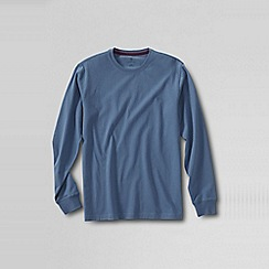 Lands' End - Blue men's long sleeve super-t