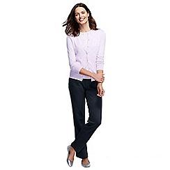 Lands' End - Blue women's regular sport knit trousers