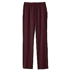Lands' End - Purple regular sport knit trousers