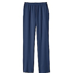 Lands' End - Blue women's regular sport knit trousers