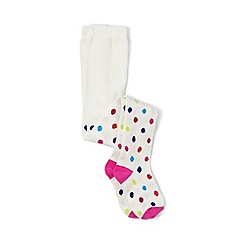 Lands' End - Girls' multi pattern tights