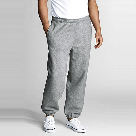 Lands+ End - Grey serious sweat jogging bottoms