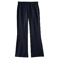Lands' End - Blue girls' flared yoga pants