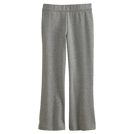 Lands+ End - Grey Girls+ Flared Yoga Pants