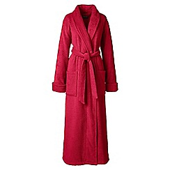 Lands' End - Red luxury terry robe