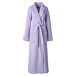 Lands' End - Purple petite luxury terry robe