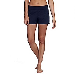 Lands' End - Blue tummy control swim shorts