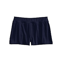 Lands' End - Blue regular tummy control 3.5 swim shorts