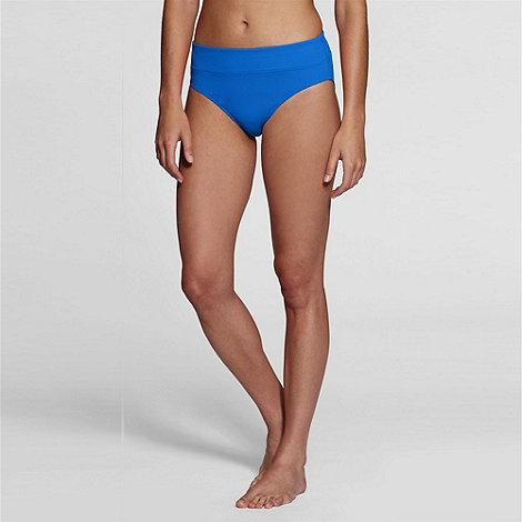 Lands+ End - Blue tummy control swim briefs
