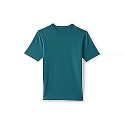 Lands' End - Green short sleeve tailored fit super-t