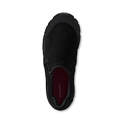 Lands' End - Black Boys' All Weather Slip-On Shoes