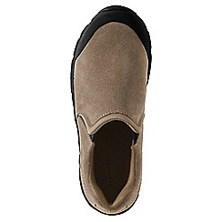 Lands' End - Beige kids' everyday moccasins