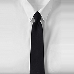 Lands' End - Black men's silk tie