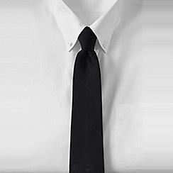 Lands' End - Black men's silk tie