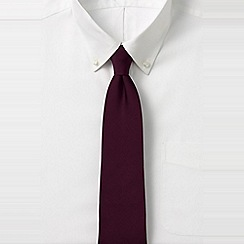Lands' End - Red silk tie