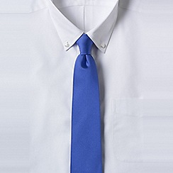 Lands' End - Blue men's silk tie