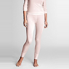 Lands' End - Pink feminine silk longjohns