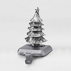 Lands' End - Metallic pewter stocking holder