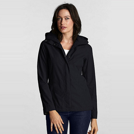 Lands+ End - Black Rainstop Jacket
