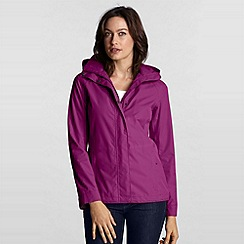 Lands' End - Pink Petite Rainstop Jacket