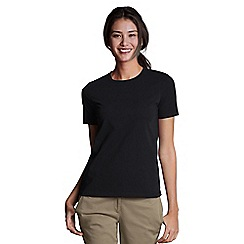 Lands' End - Black Crew Neck Tee