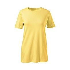 Lands' End - Yellow supima short sleeve crew neck tee