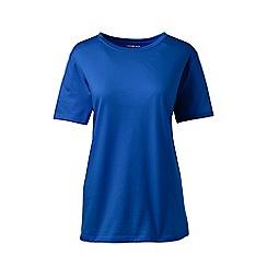 Lands' End - Blue crew neck plus t-shirt
