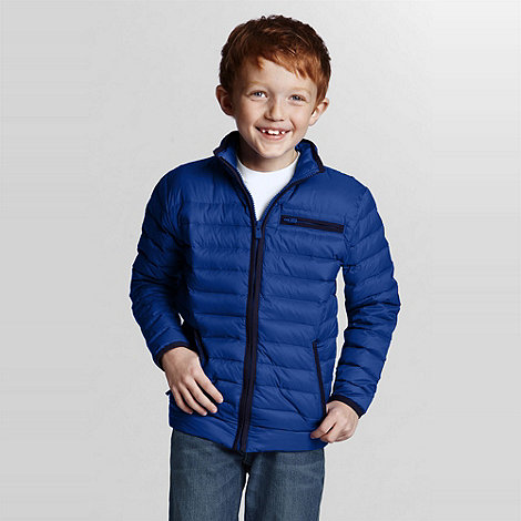 Lands+ End - Blue Lightweight Down Jacket