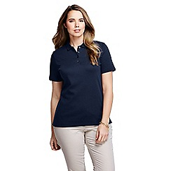 Lands' End - Blue pima polo