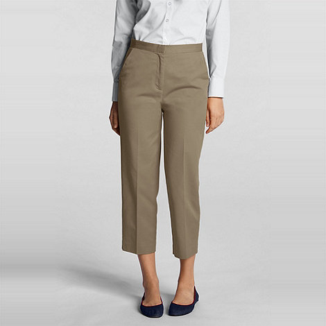 Lands+ End - Beige Trousers
