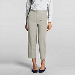 Lands' End - Beige Petite Trousers