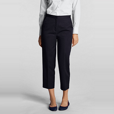 Lands+ End - Blue Petite Trousers