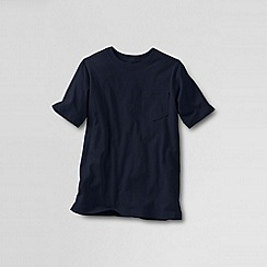 Lands' End - Blue little boys' short-sleeve super-t