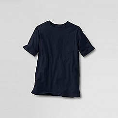 Lands' End - Blue boys' short-sleeve super-t