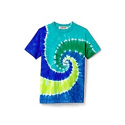 Lands' End - Boys' multicoloured short sleeve tie-dye super t-shirt
