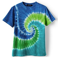 Lands' End - Boys Toddler Multi short sleeve tie-dye super-t