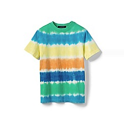 Lands' End - Multi boys' short-sleeve tie-dye t-shirt