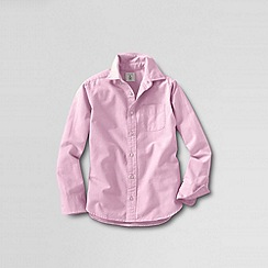 Lands' End - Pink little boys' long sleeve heritage oxford shirt