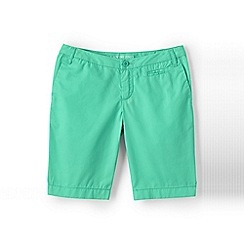 Lands' End - Green girls' bermuda shorts