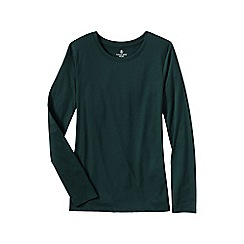 Lands' End - Green crewneck tee