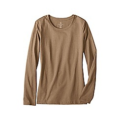 Lands' End - Beige crewneck tee