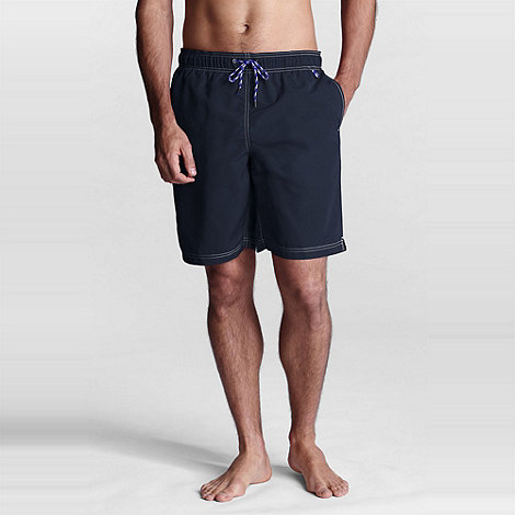 Lands+ End - Blue volley shorts