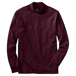 Lands' End - Red super tee polo neck