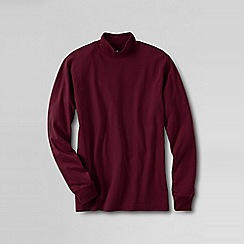 Lands' End - Red men's super tee polo neck