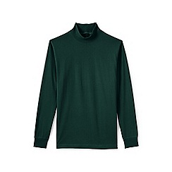 Lands' End - Green super tee polo neck