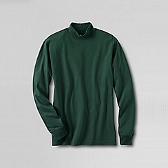 Lands' End - Green men's super tee polo neck